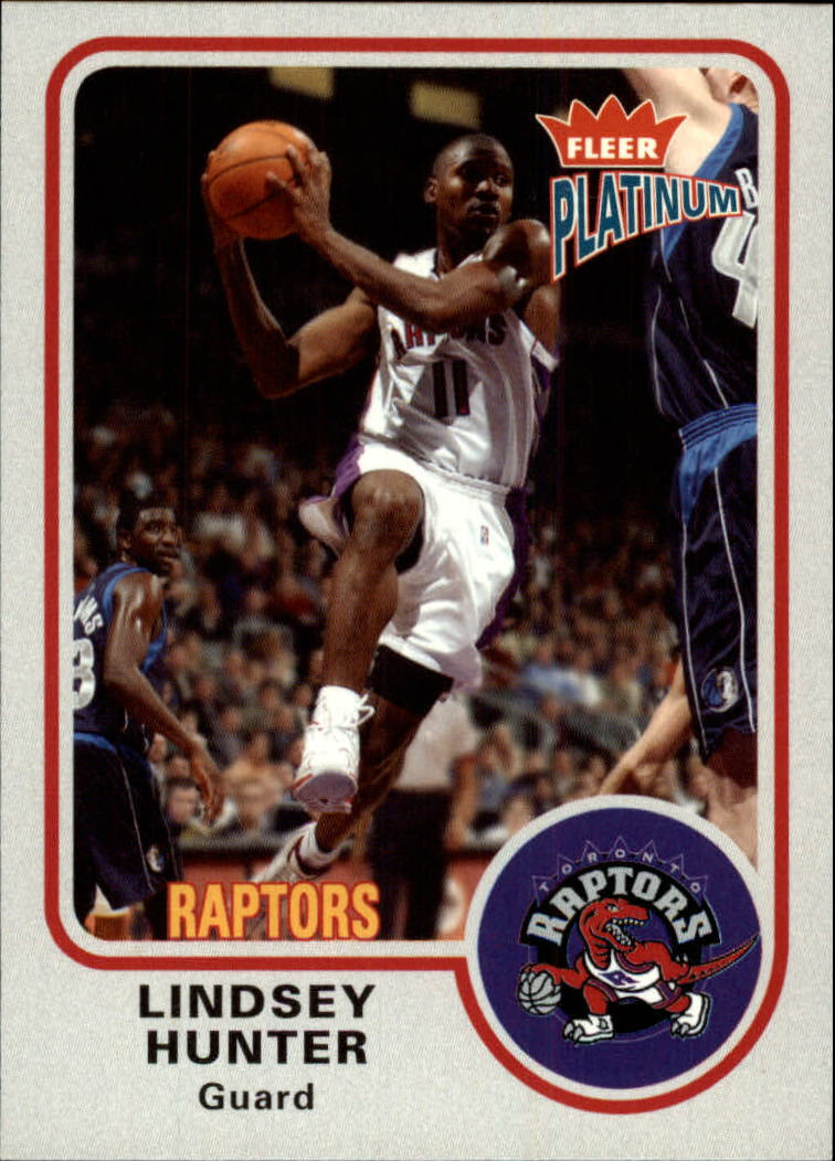 2002-03 Fleer Platinum #95 Lindsey Hunter