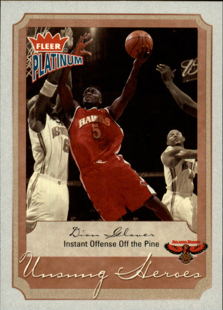 2002-03 Fleer Platinum #146 Dion Glover