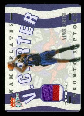2002-03 Fleer Platinum Nameplates #VC Vince Carter/545