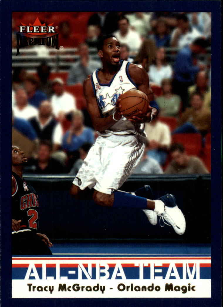 2002-03 Fleer Premium #1 Tracy McGrady front image