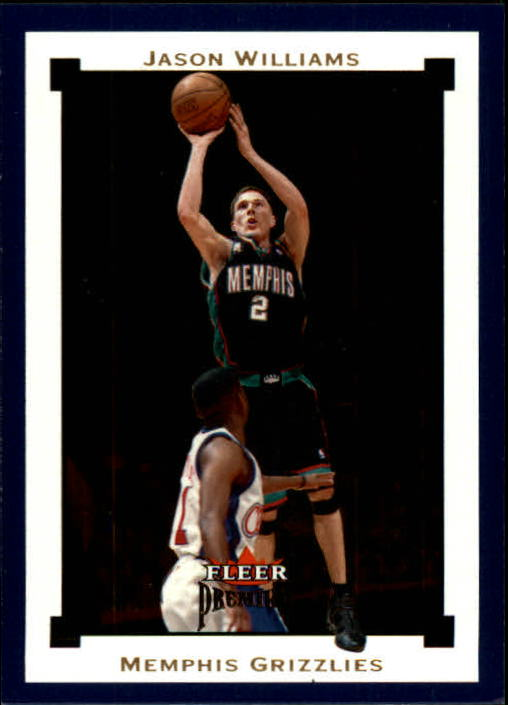 2002-03 Fleer Premium #72 Jason Williams