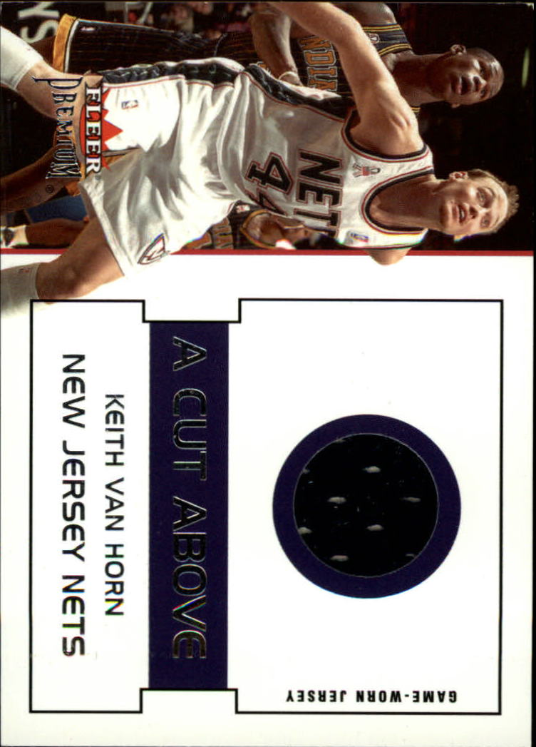 2002-03 Fleer Premium A Cut Above #1 Keith Van Horn