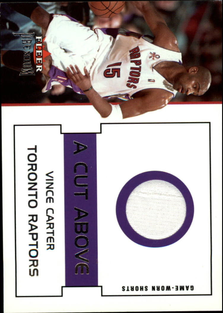 2002-03 Fleer Premium A Cut Above #2 Vince Carter