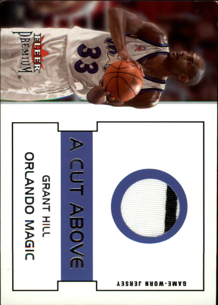 2002-03 Fleer Premium A Cut Above #4 Grant Hill