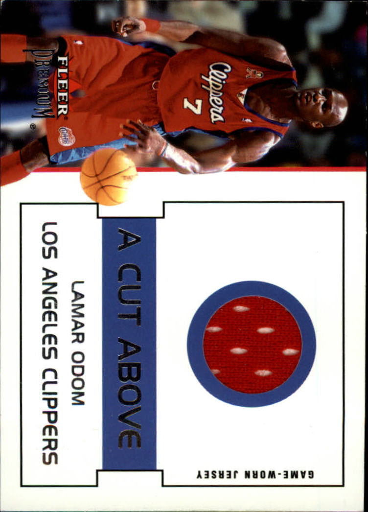 2002-03 Fleer Premium A Cut Above #7 Lamar Odom
