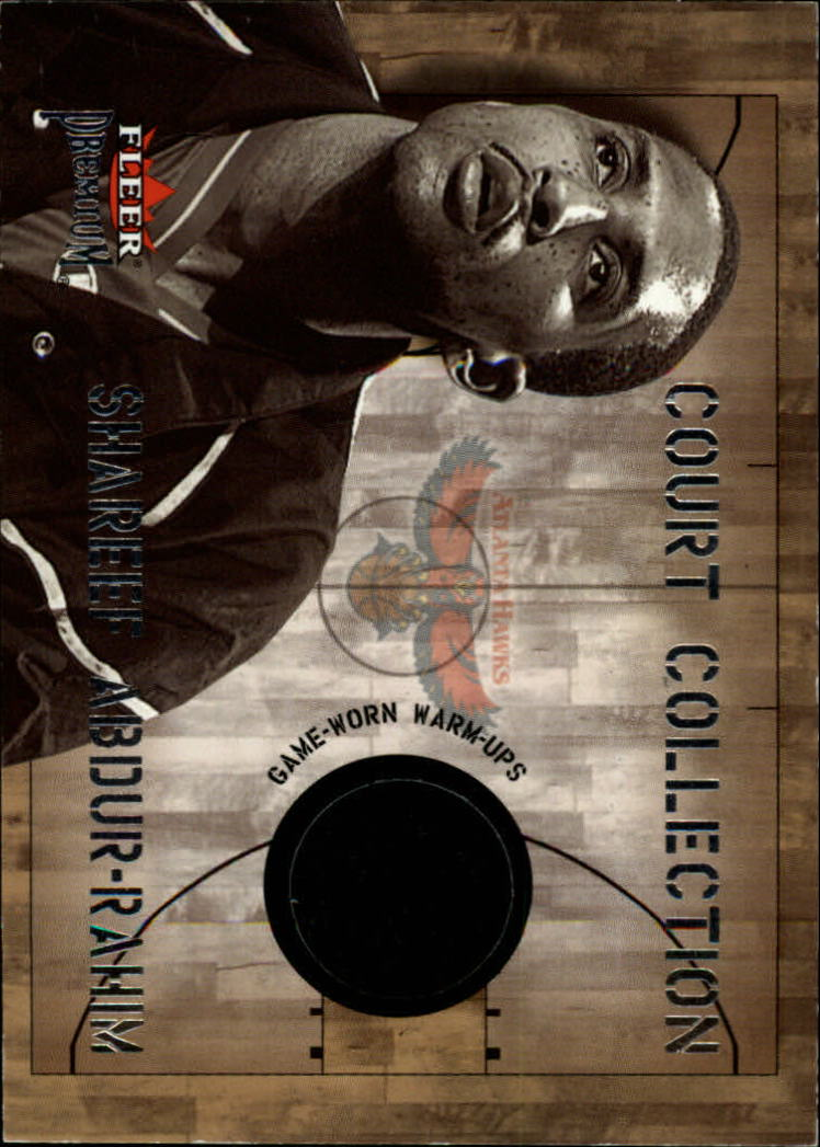 2002-03 Fleer Premium Court Collection #1 Shareef Abdur-Rahim