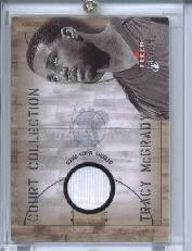 2002-03 Fleer Premium Court Collection #5 Tracy McGrady