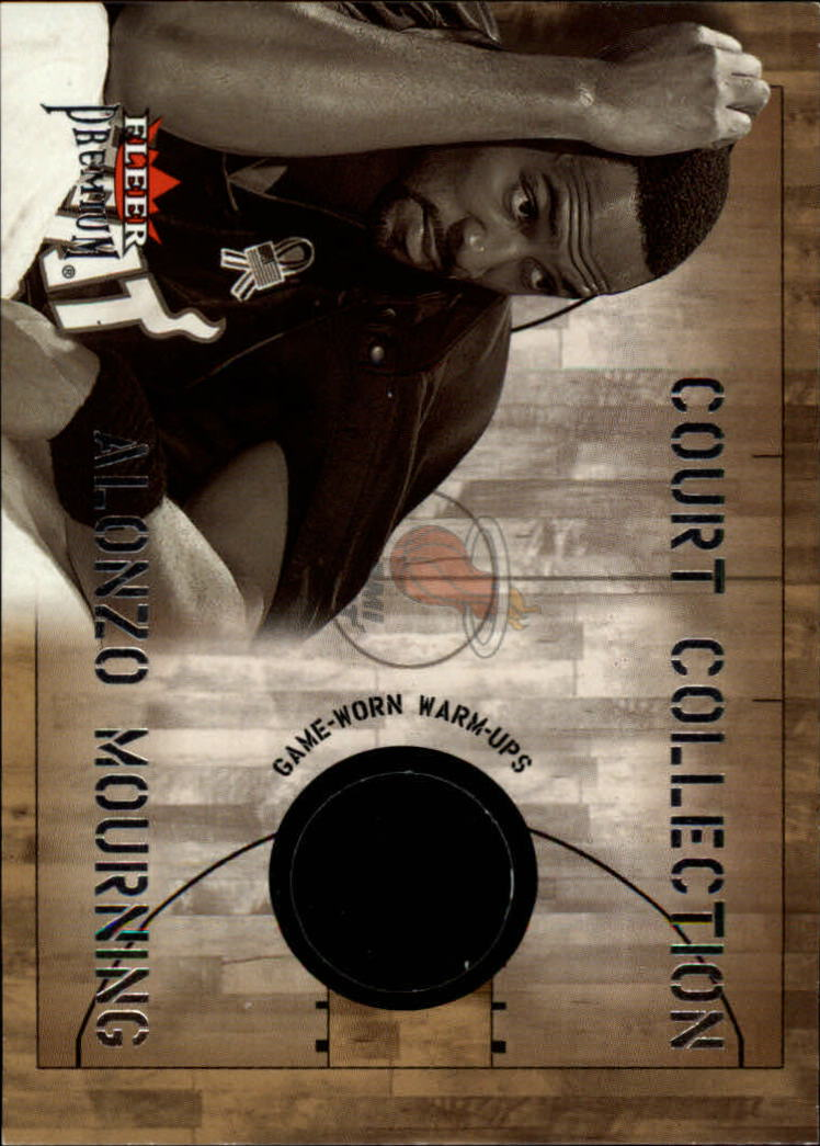 2002-03 Fleer Premium Court Collection #6 Alonzo Mourning