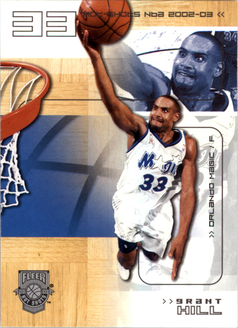 2002-03 Fleer Hot Shots #13 Grant Hill