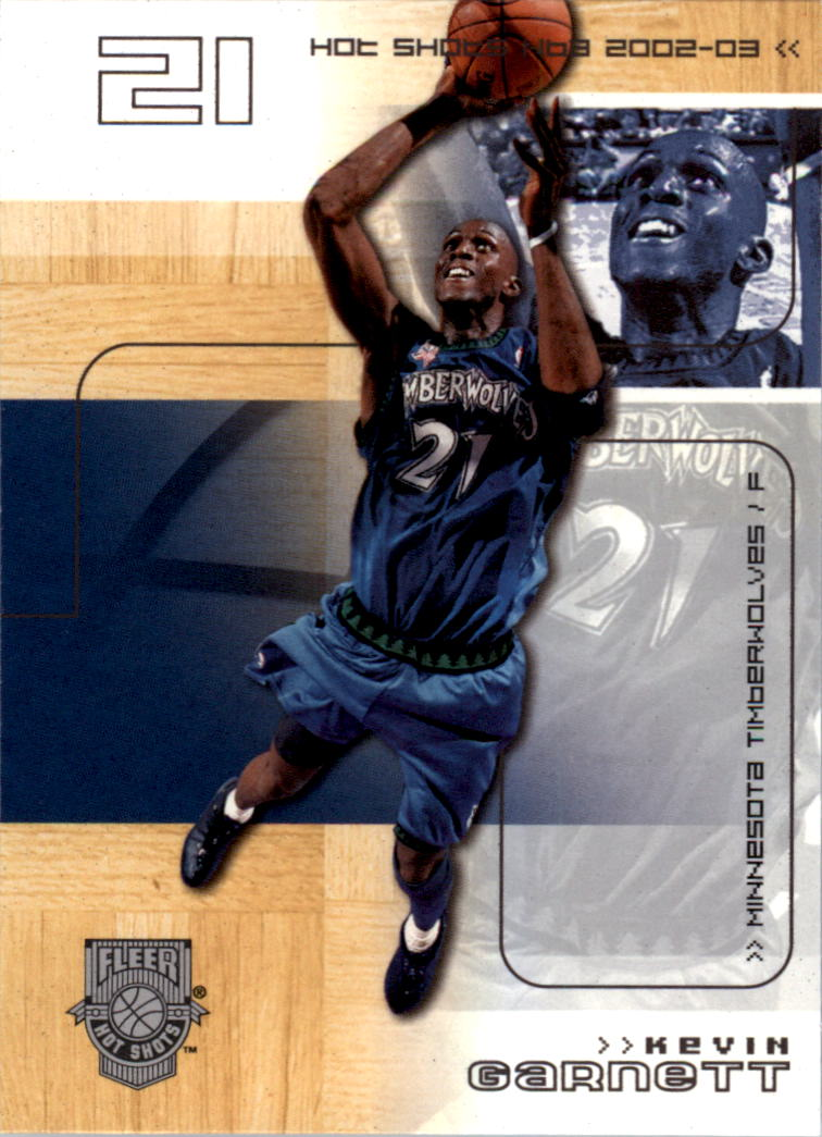 2002-03 Fleer Hot Shots #28 Kevin Garnett