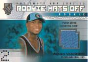 2002-03 Fleer Hot Shots #176 DaJuan Wagner RC