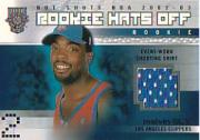 2002-03 Fleer Hot Shots #184 Melvin Ely RC