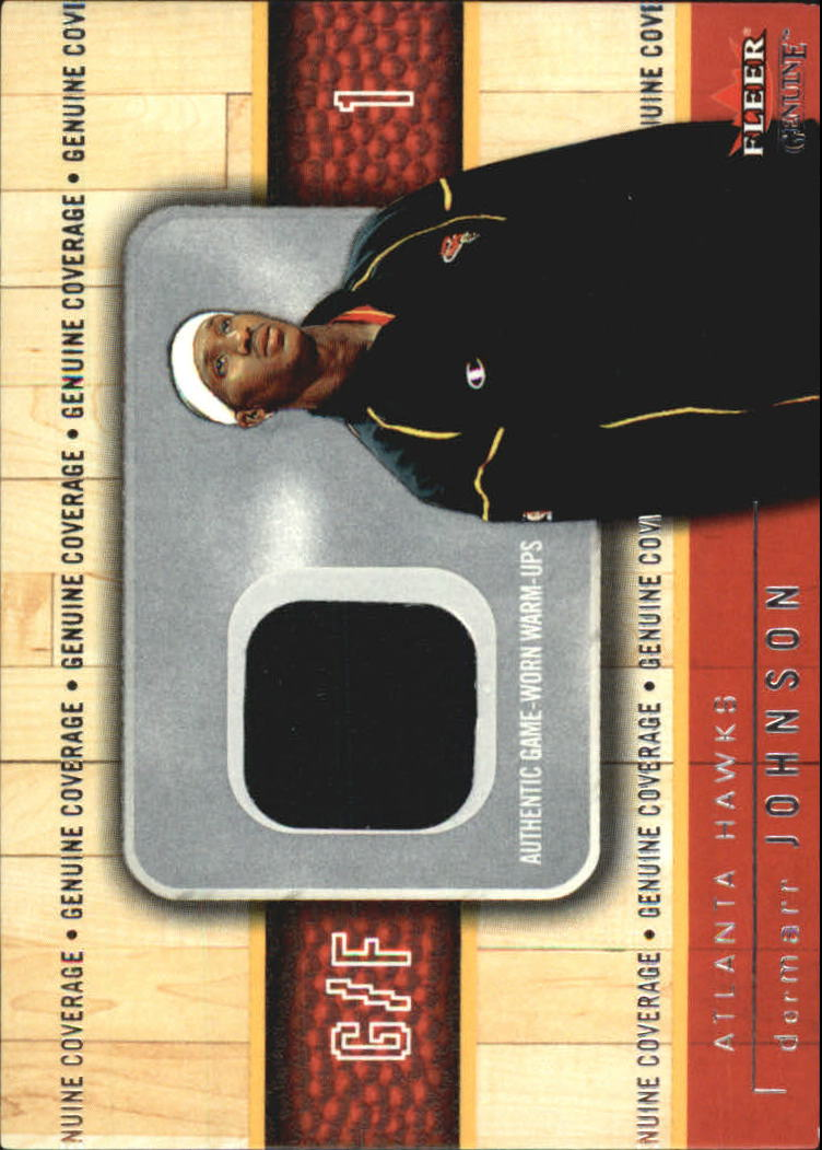 2002-03 Fleer Genuine Coverage #9 DerMarr Johnson
