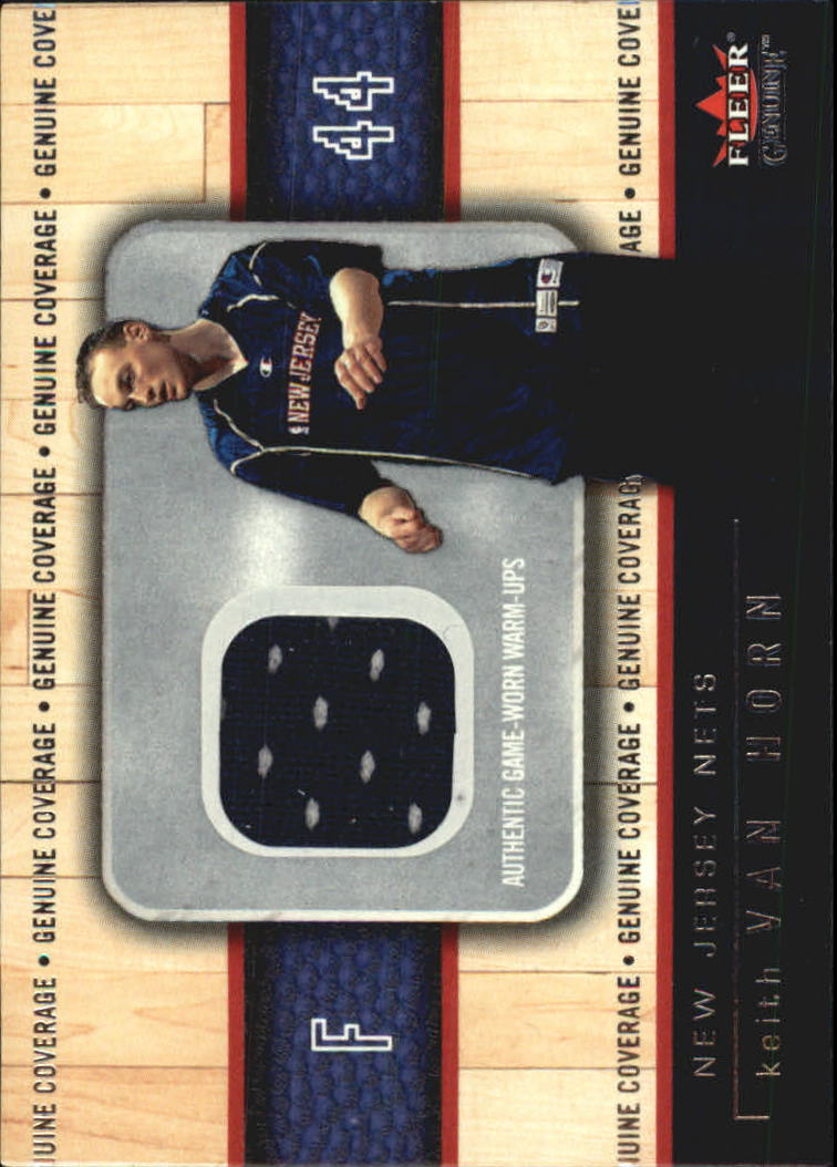 2002-03 Fleer Genuine Coverage #14 Keith Van Horn