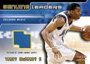 2002-03 Fleer Genuine Names of the Game Jerseys Gold #2 Tracy McGrady