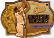2002-03 Fleer Authentix Courtside Classics Silver #8 Kobe Bryant