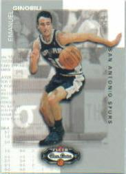 2002-03 Fleer Box Score #145 Manu Ginobili RC