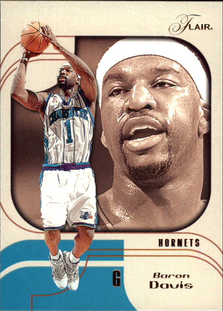 2002-03 Flair #38 Baron Davis