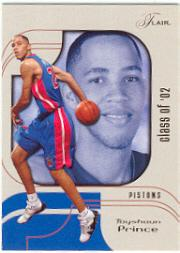 2002-03 Flair #115 Tayshaun Prince RC