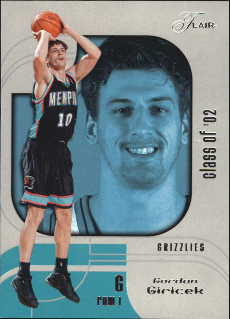 2002-03 Flair Row 1 #120 Gordan Giricek