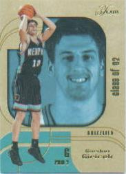 2002-03 Flair Row 2 #120 Gordan Giricek