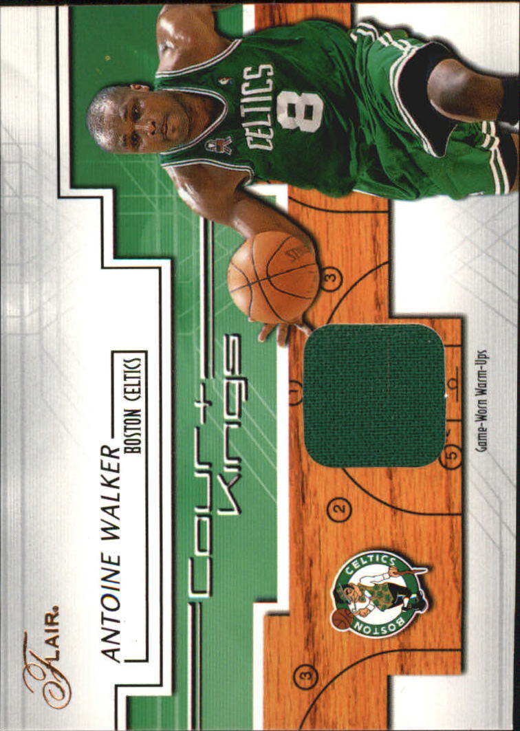 2002-03 Flair Court Kings Game Used #CKAW Antoine Walker