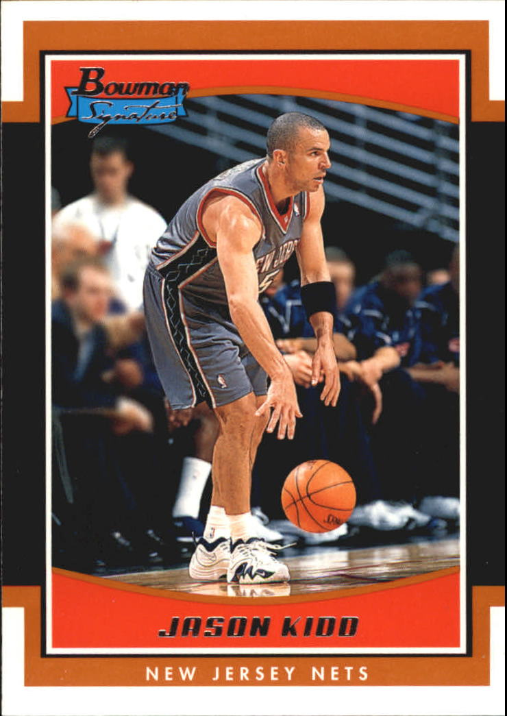 2002-03 Bowman Signature Edition #SEJK Jason Kidd