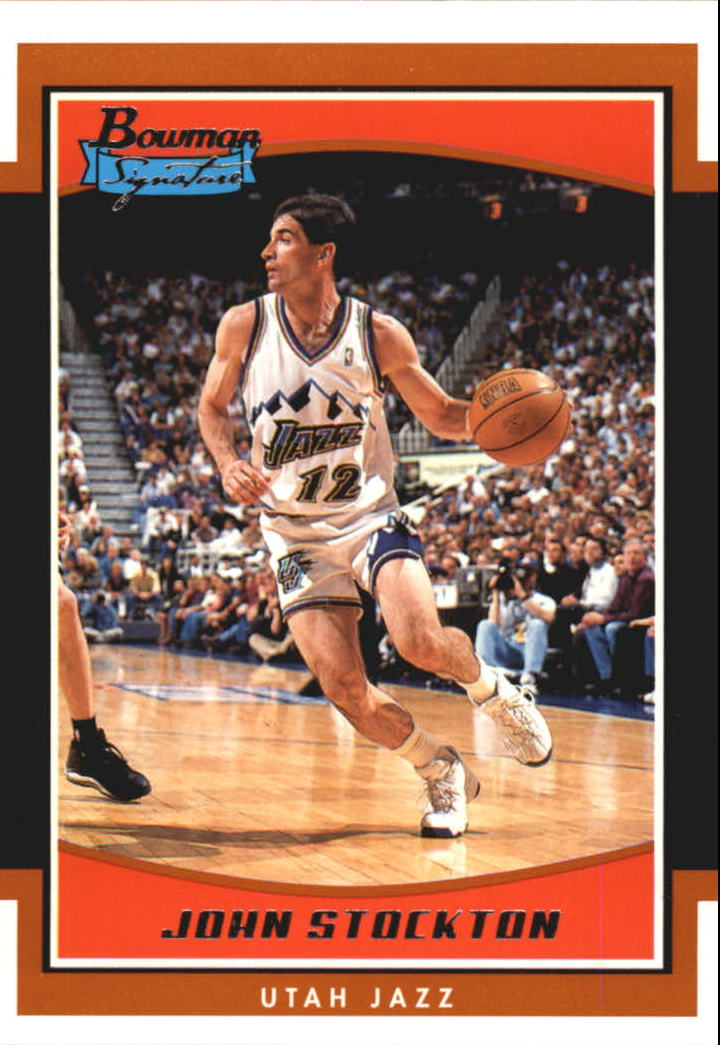 2002-03 Bowman Signature Edition #SEJOS John Stockton
