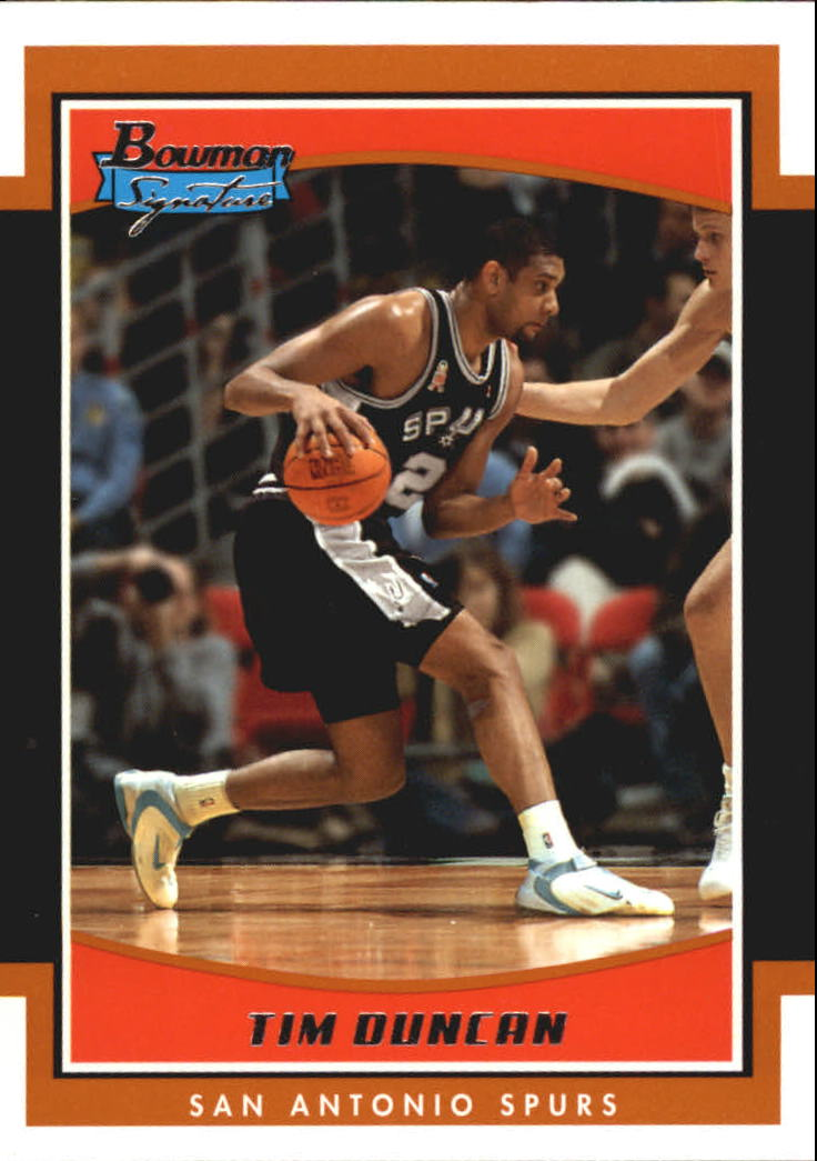 2002-03 Bowman Signature Edition #SETD Tim Duncan