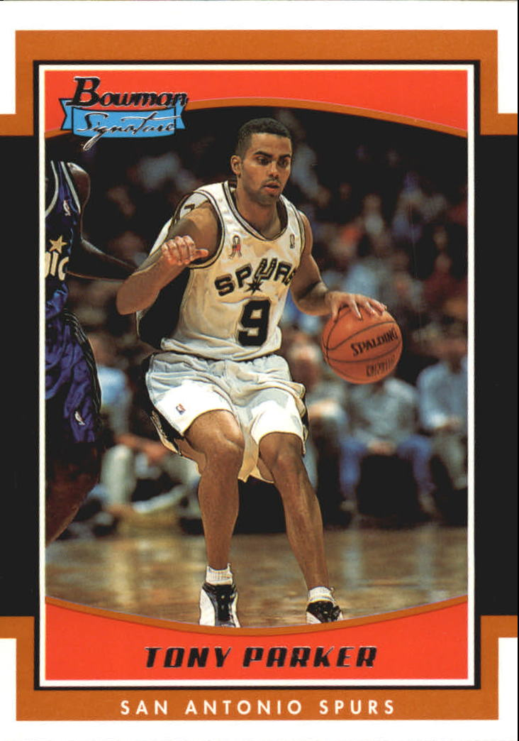 2002-03 Bowman Signature Edition #SETP Tony Parker