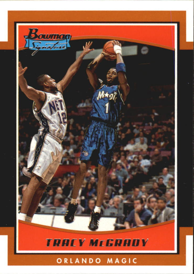 2002-03 Bowman Signature Edition #SETLM Tracy McGrady front image