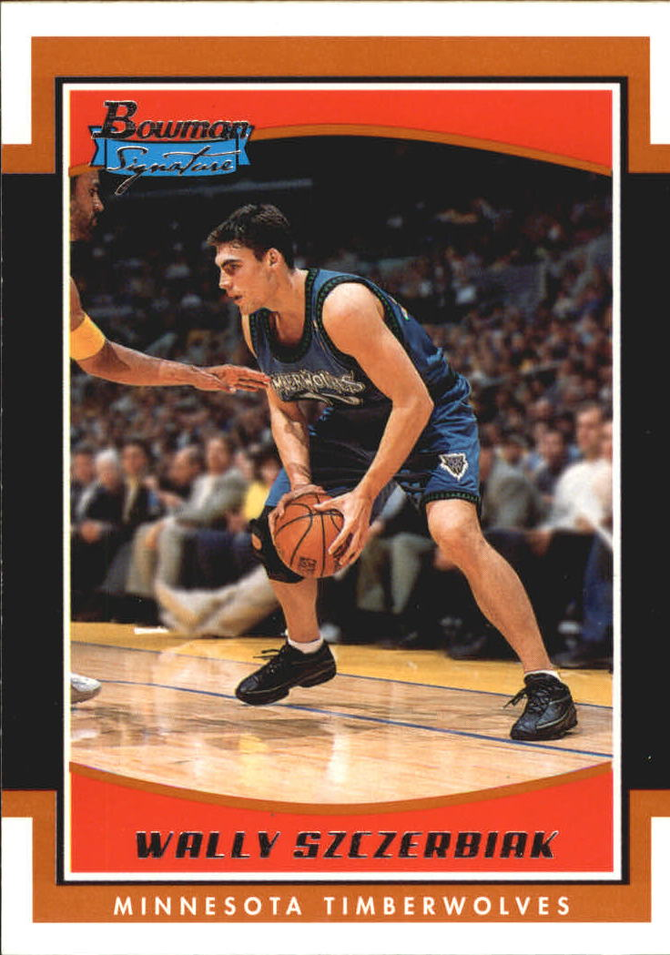 2002-03 Bowman Signature Edition #SEWS Wally Szczerbiak