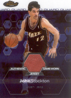 2002-03 Finest #143 John Stockton JSY