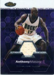 2002-03 Finest #153 Anthony Mason JSY