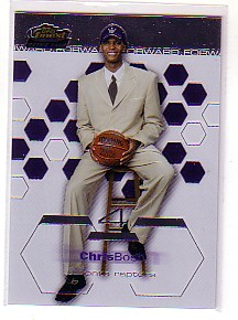 2002-03 Finest #181 Chris Bosh XRC