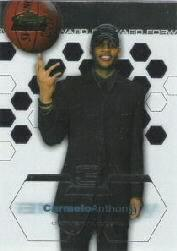 2002-03 Finest Refractors #180 Carmelo Anthony