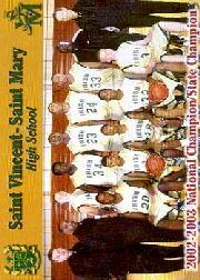 2003 Saint Vincent-Saint Mary High School Ruby #5 Willie McGee/Brandon Weems/Dru Joyce III/Marcus Johnson/Corey Jones/Mike Snowbarger CO/Dru Joyce HCO/Tim Marks/Sian Cotton/LeBron James/Romeo Travis/Preston Sims/Lee Cotton CO/Steve Culp CO
