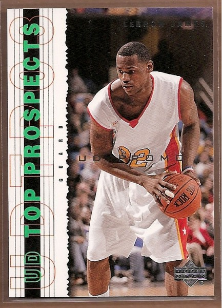 2003 Upper Deck Top Prospects LeBron James Promos #P3 LeBron James