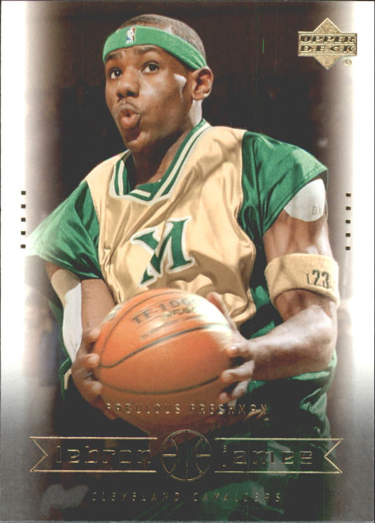 2003 Upper Deck LeBron James Box Set #1 LeBron James/Fabulous Freshman