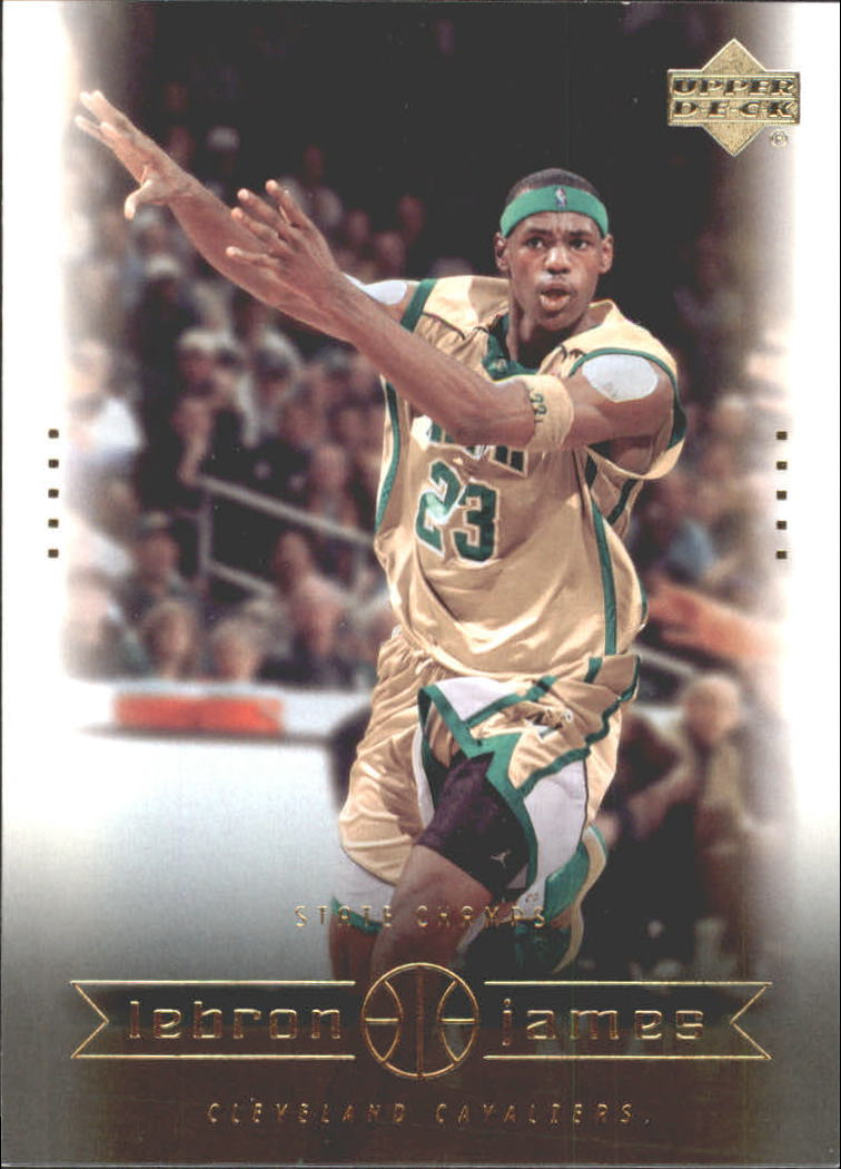 2003 Upper Deck LeBron James Box Set #2 LeBron James/State Champs