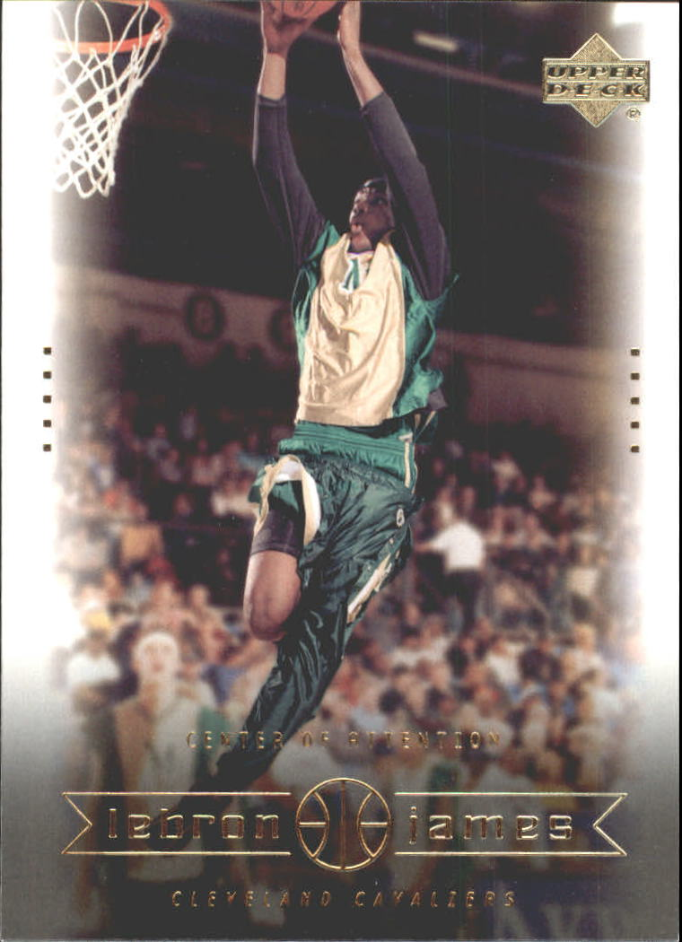 2003 Upper Deck LeBron James Box Set #4 LeBron James/Center of Attention