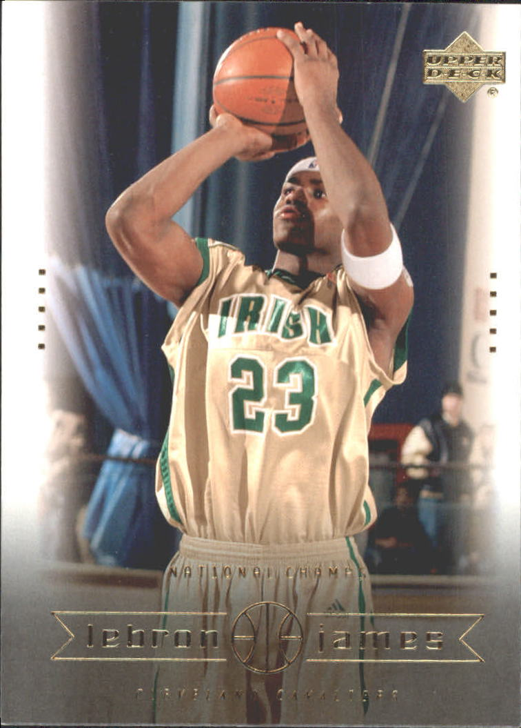 2003 Upper Deck LeBron James Box Set #5 LeBron James/National Champs