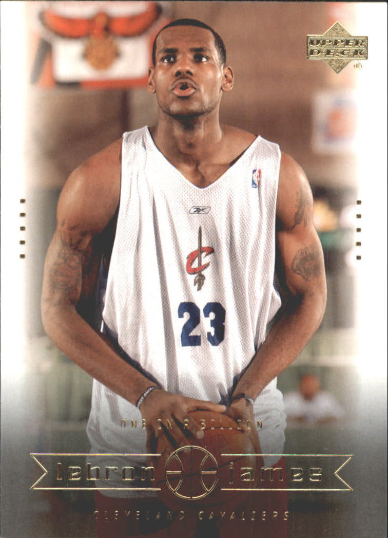 2003 Upper Deck LeBron James Box Set #10 LeBron James/One in a Billion