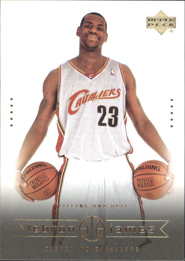 2003 Upper Deck LeBron James Box Set #12 LeBron James/Willing and Able