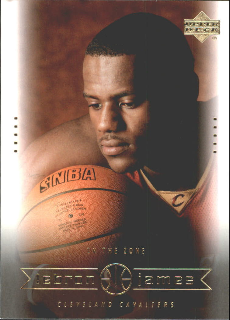 2003 Upper Deck LeBron James Box Set #13 LeBron James/In the Zone