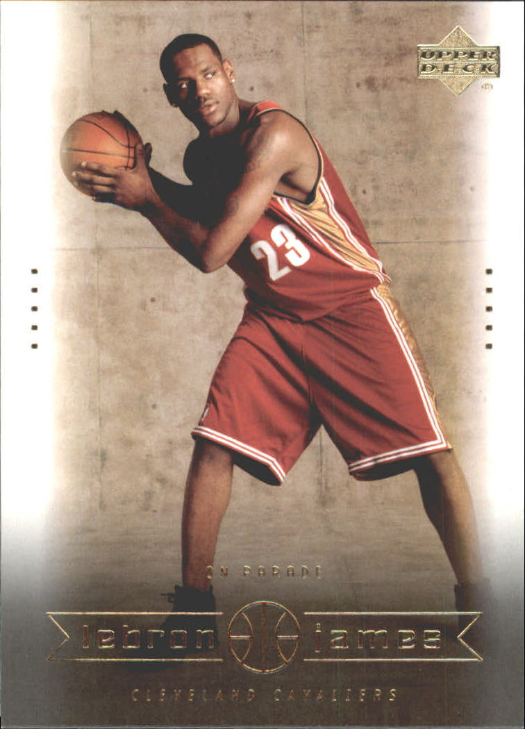 2003 Upper Deck LeBron James Box Set #14 LeBron James/On Parade