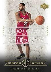 2003 Upper Deck LeBron James Box Set #16 LeBron James/The Magic Touch