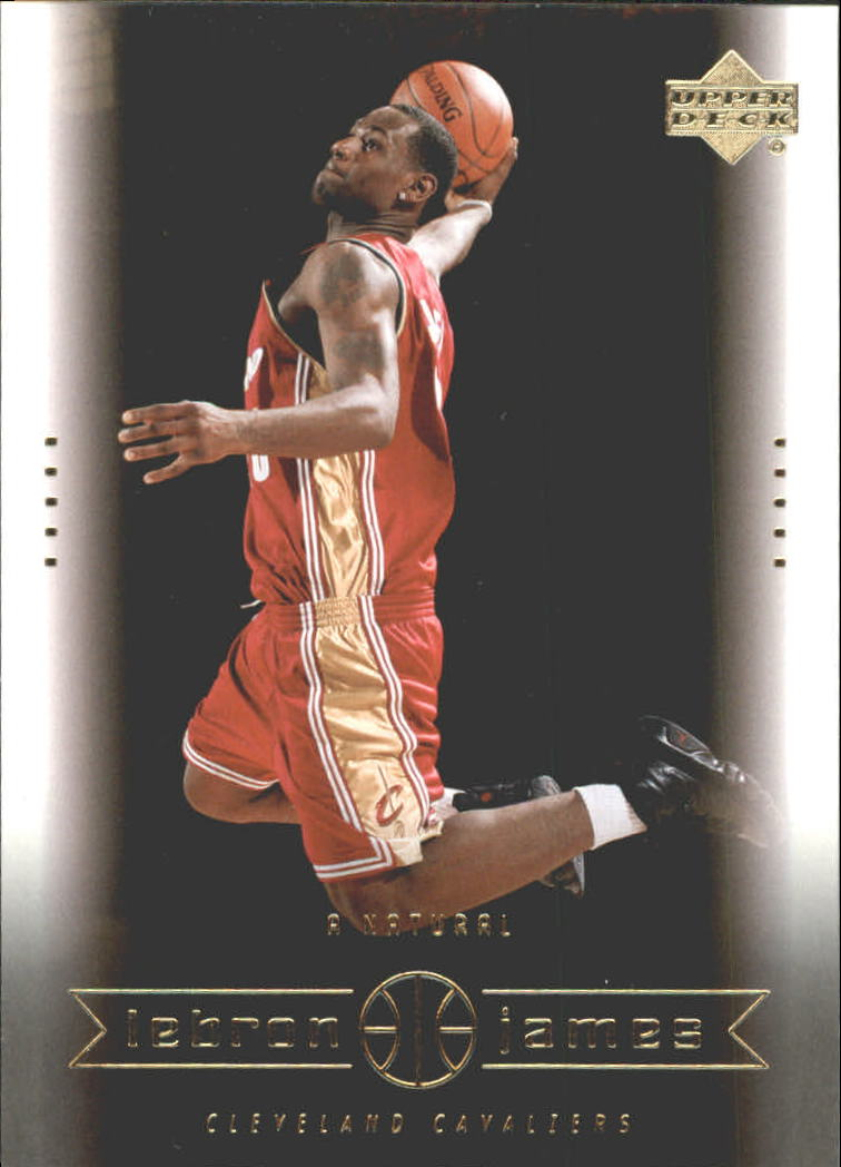 2003 Upper Deck LeBron James Box Set #18 LeBron James/A Natural