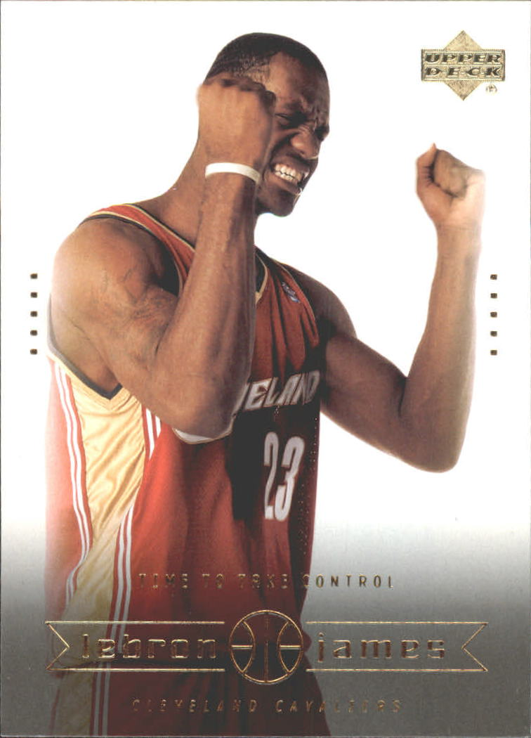 2003 Upper Deck LeBron James Box Set #19 LeBron James/Time to Take Control