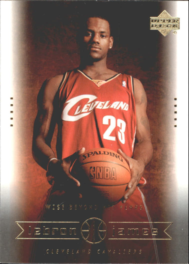 2003 Upper Deck LeBron James Box Set #20 LeBron James/Wise Beyond His Years